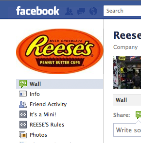 Facebook Reese's Profile Picture