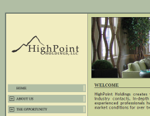 HighPoint Holdings Website
