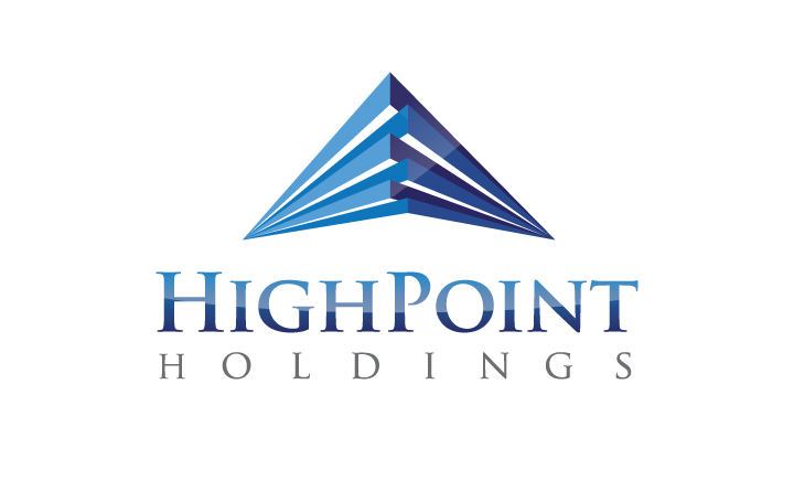 Logo Design for Birmingham, AL company, HighPoint Holdings by Huebris.
