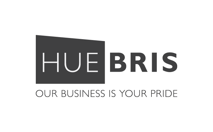 Logo design for Huebris in Birmingham, AL.