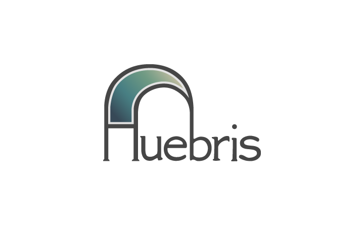 Old logo design for Huebris.
