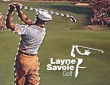 Layne Savoie Golf Logo Design