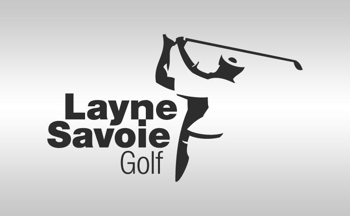 Logo Design for Layne Savoie Golf Instruction in Alabama.