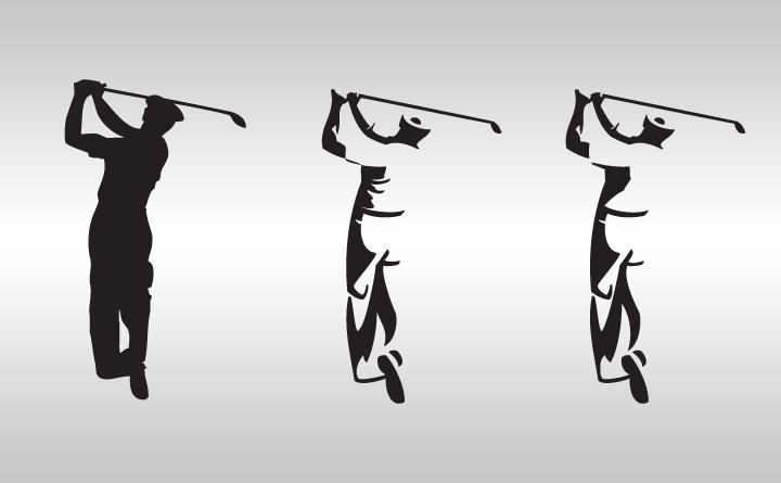 Logo design progression into negative space by Birmingham, Alabama-based Huebris.
