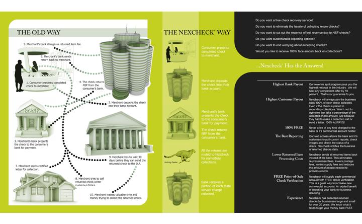 Nexcheck Folder Brochure