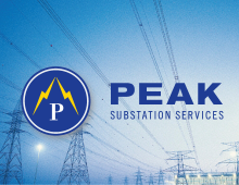 Peak Electric Substations Web Development and Graphic Design