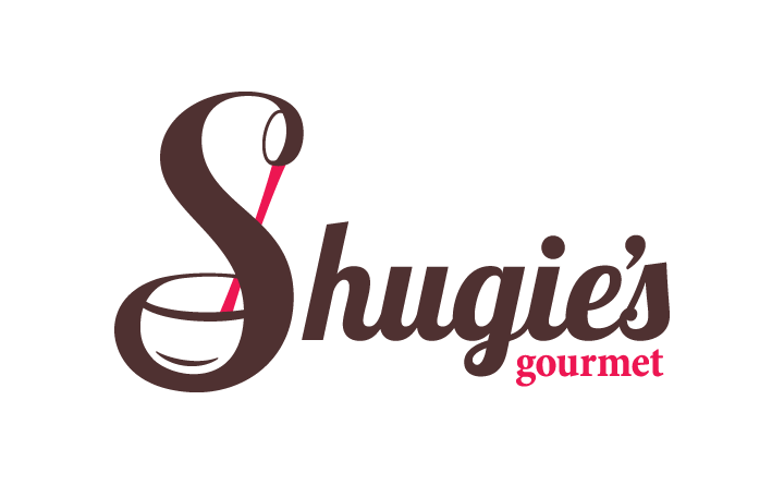 Logo design for gourmet food small business, Shugie's.