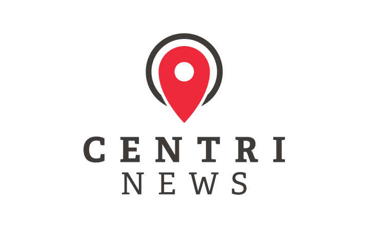 Logo design for centriNEWS news aggregator web app.